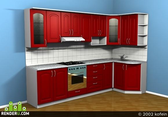 preview Проект кухни