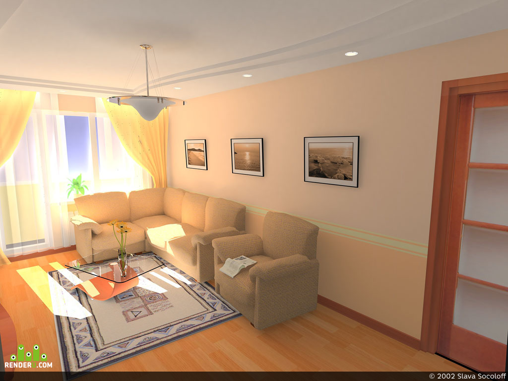 preview Просто зал (гостиная)