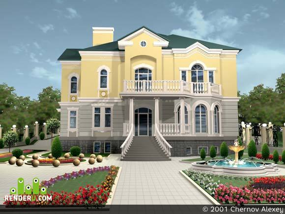 preview Двухэтажный дом