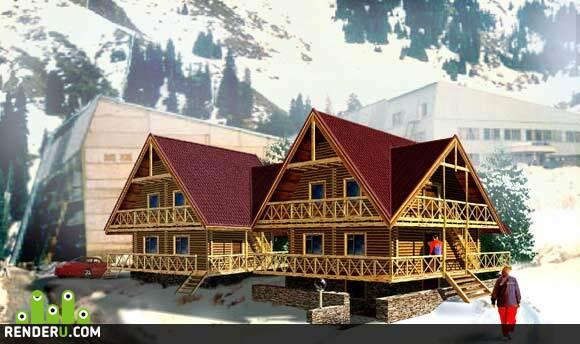 preview Домик в горах