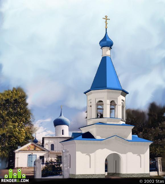 preview Проект колокольни ц. Св. Георгия в г. Старая Русса