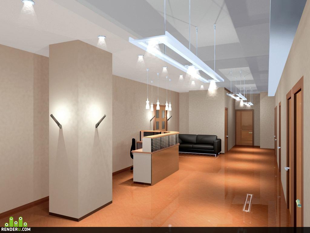 preview Приемная центрального офиса компании `Евросеть`