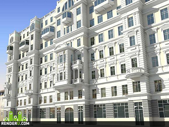preview Реконструкция здания