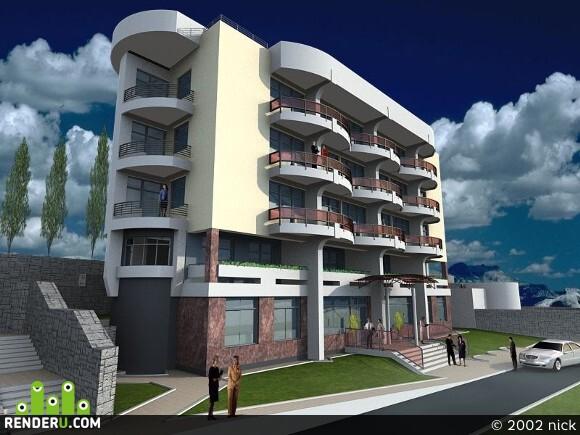 preview Отель в Алуште