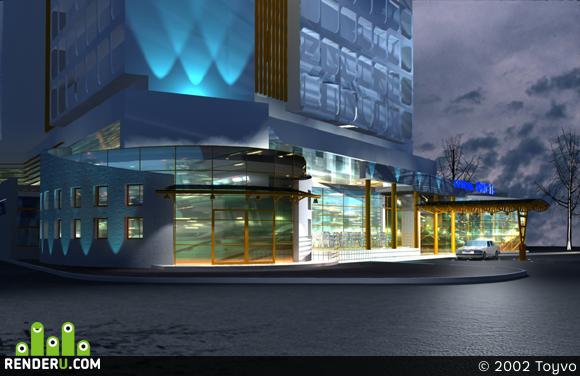 preview Реконструкция гостиницы