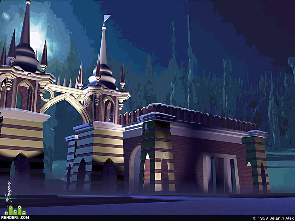 preview Проект городского сооружения