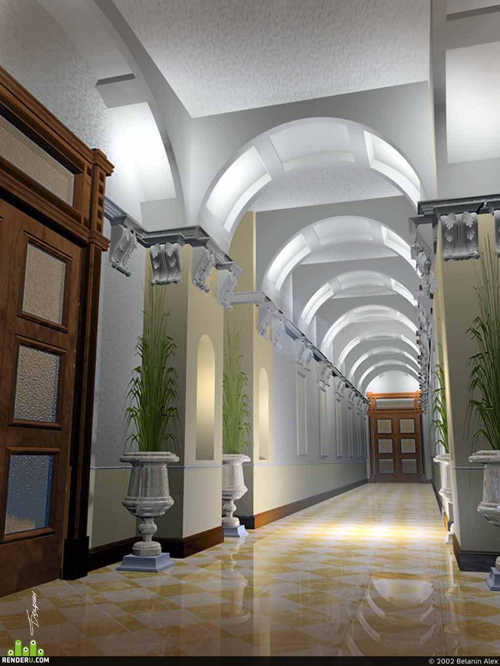preview Проект общественного помещения