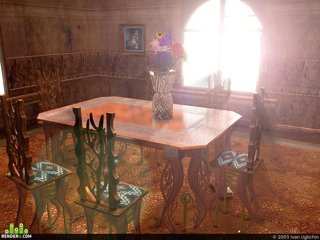 preview Деревянная комната