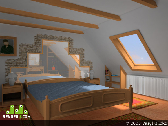 preview Банальная спальня