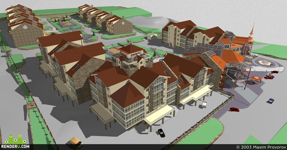 preview Комплекс малоэтажных жилых домов в жилом массиве Ветлужанка в Красноярске