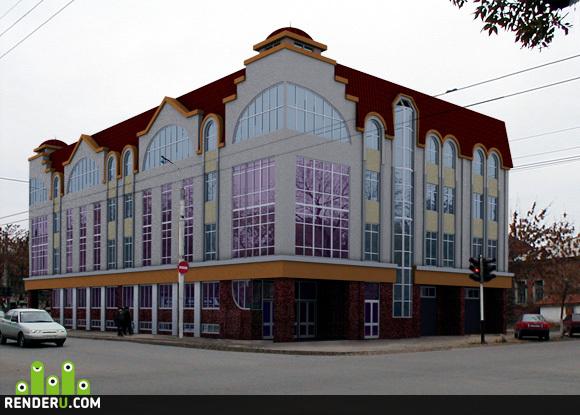 preview Торгово-офисный центр