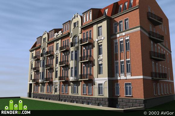 preview Реконструкция жилого дома