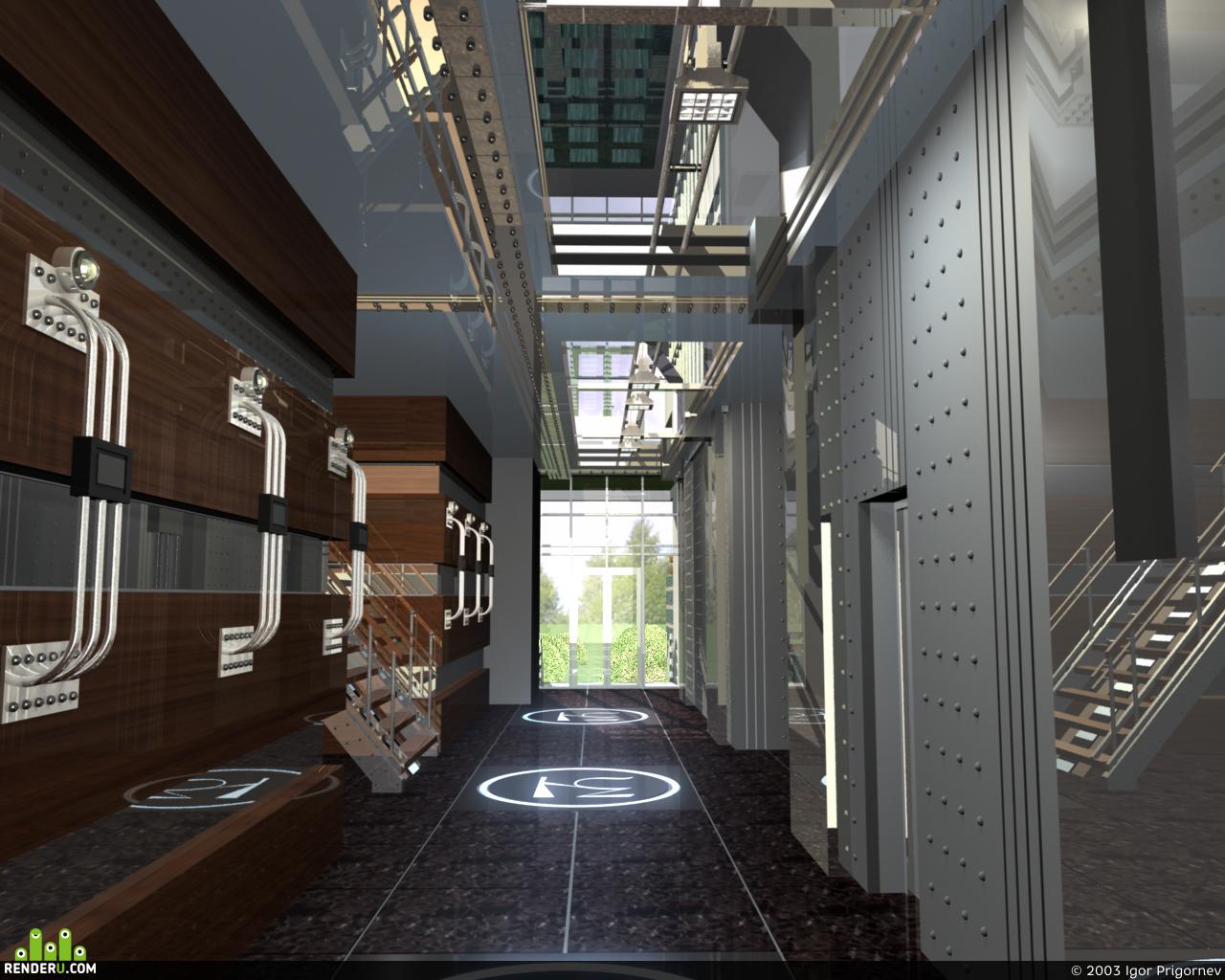 preview Входной вестибюль Апартамент-Отеля.