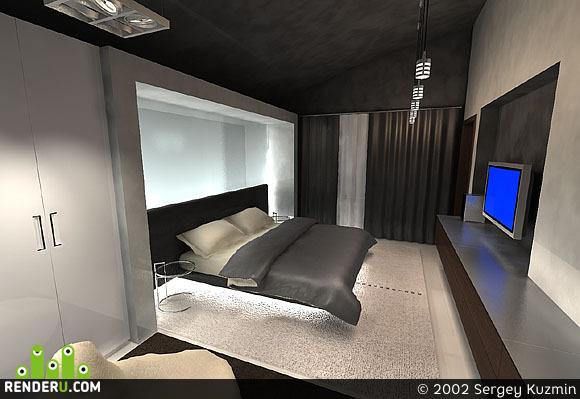 preview Хозяйская спальня в загородном доме