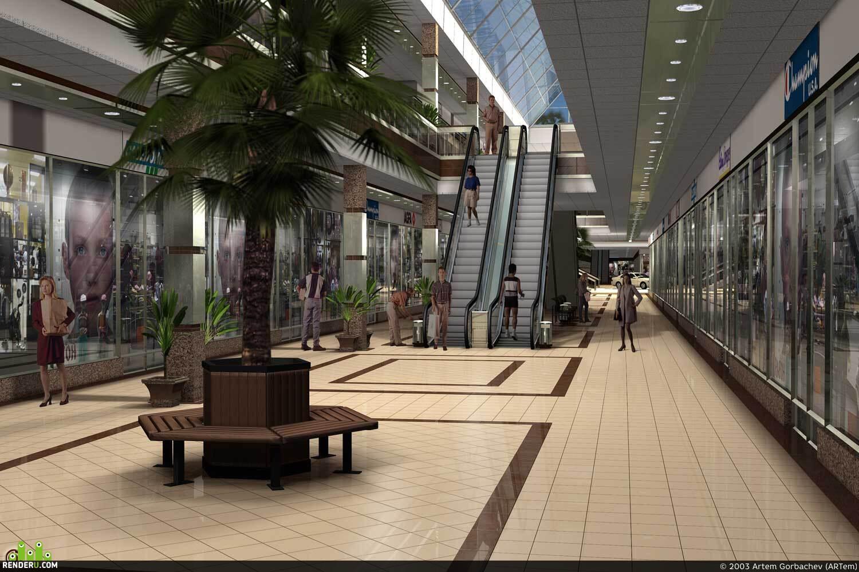 preview Галерея торгового комплекса в Одессе.