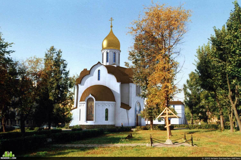 preview  Храм-памятник св. Александра Невского в г. Балашиха.