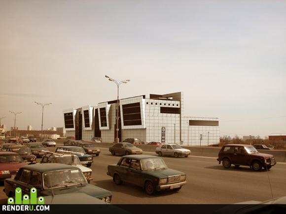 preview Торговый центр на МКАД
