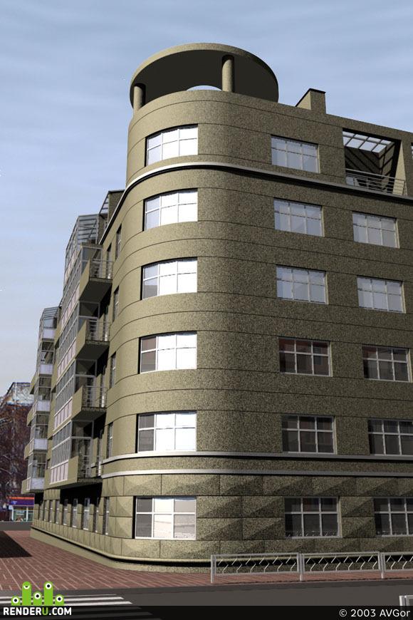preview Реконструкция жилого здания