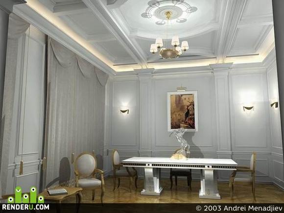 preview гостинная в частном доме
