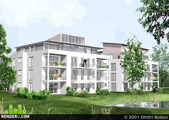 preview Жилые дома в Пфюльзее