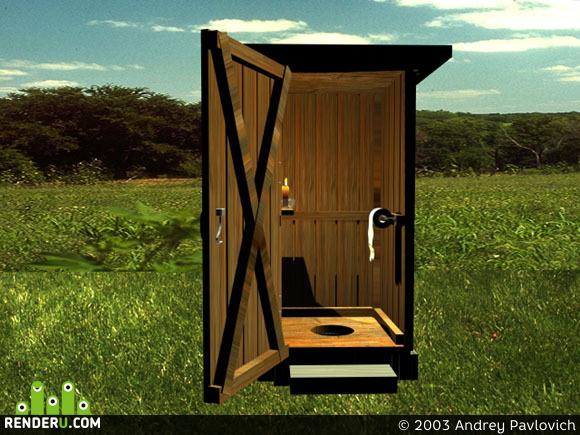 preview Сельский туалет