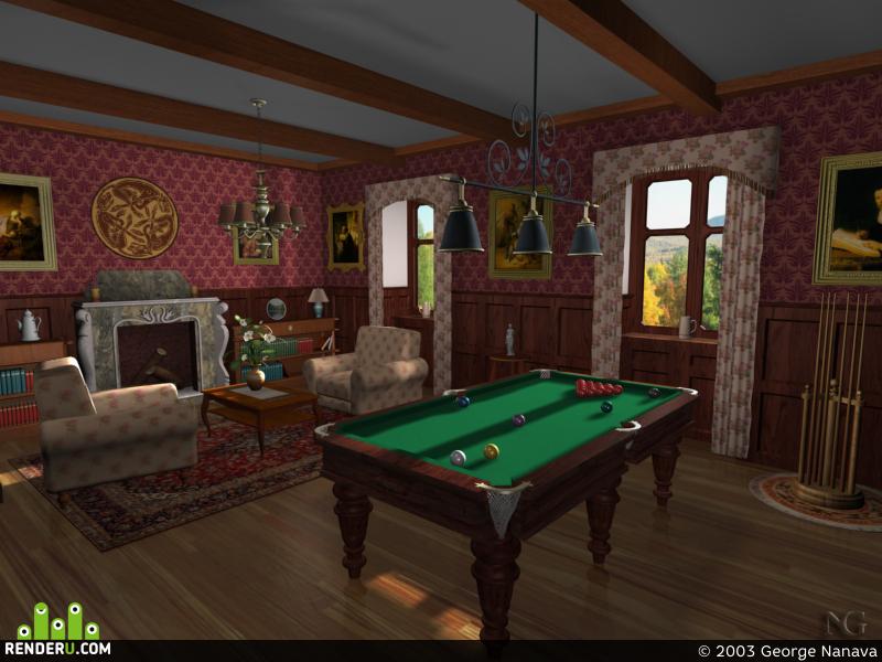 preview Billiard Room