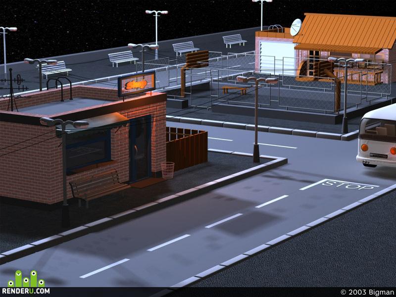 preview маленький городок