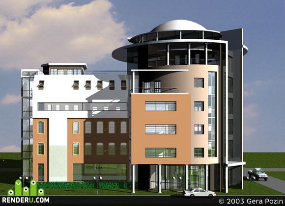 preview Офисное здание (1 вариант)