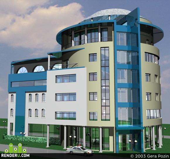 preview Офисное здание (2 вариант)