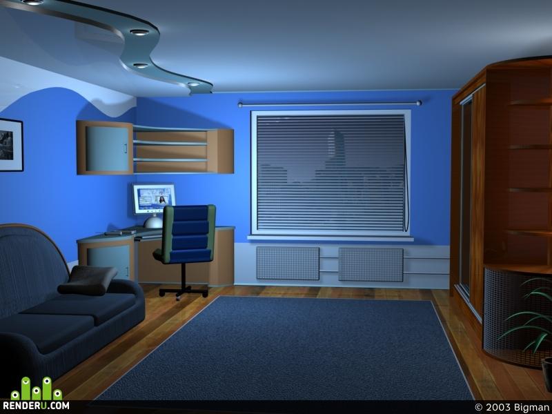 preview маленькая комната