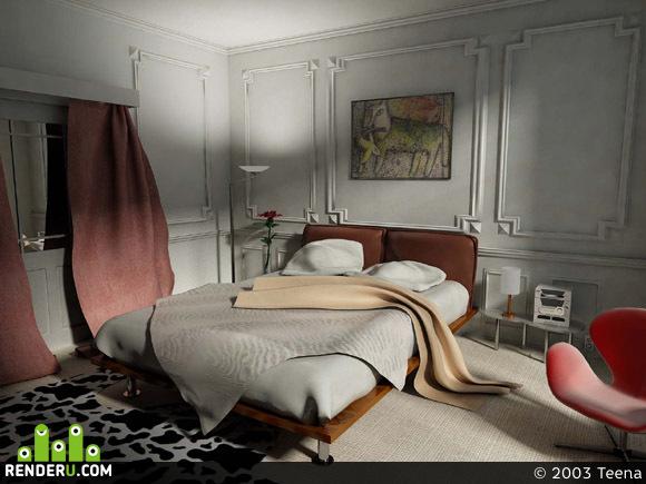 preview Спальня. Утро