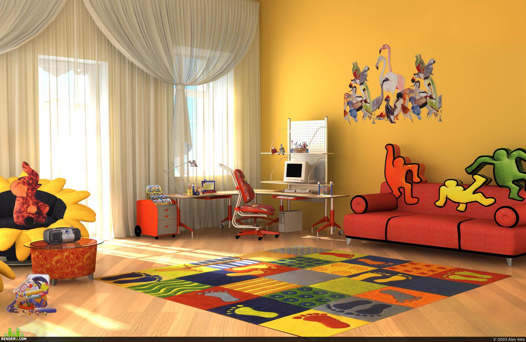 preview Детский кабинет - игровая комната