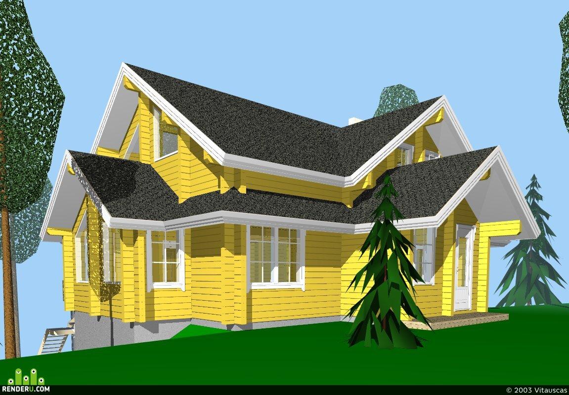 preview дом на склоне (продолжение)