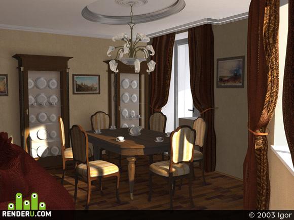preview Интерьер гостиной