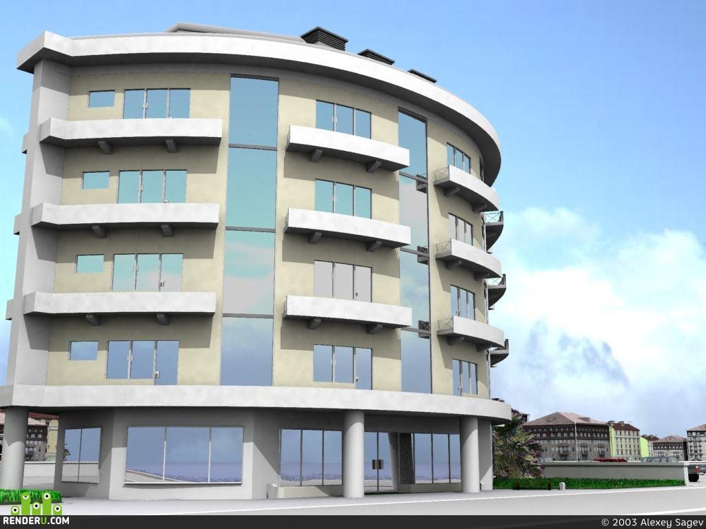 preview Отель на берегу моря.