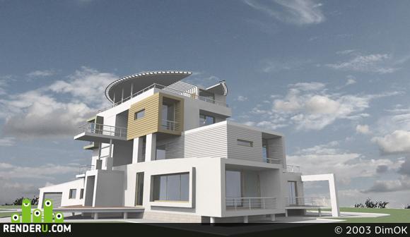 preview Загородный жилой дом