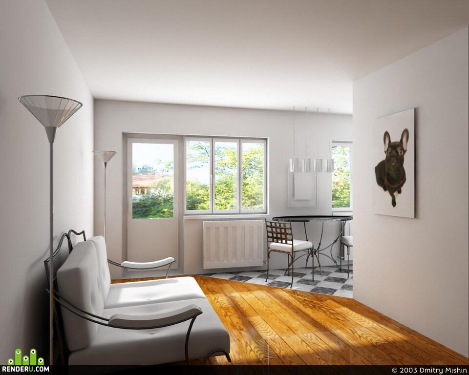 preview комната с собакой