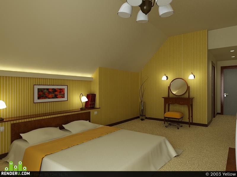preview скромненькая спальня