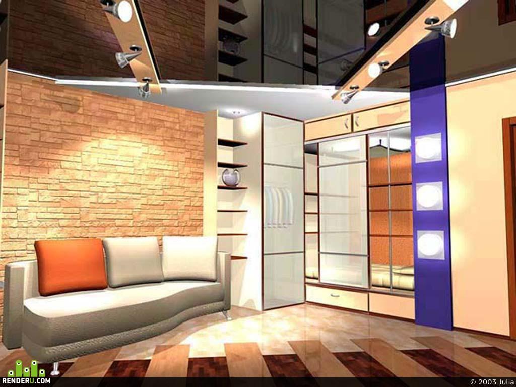 preview Интерьер однокомнатной квартиры