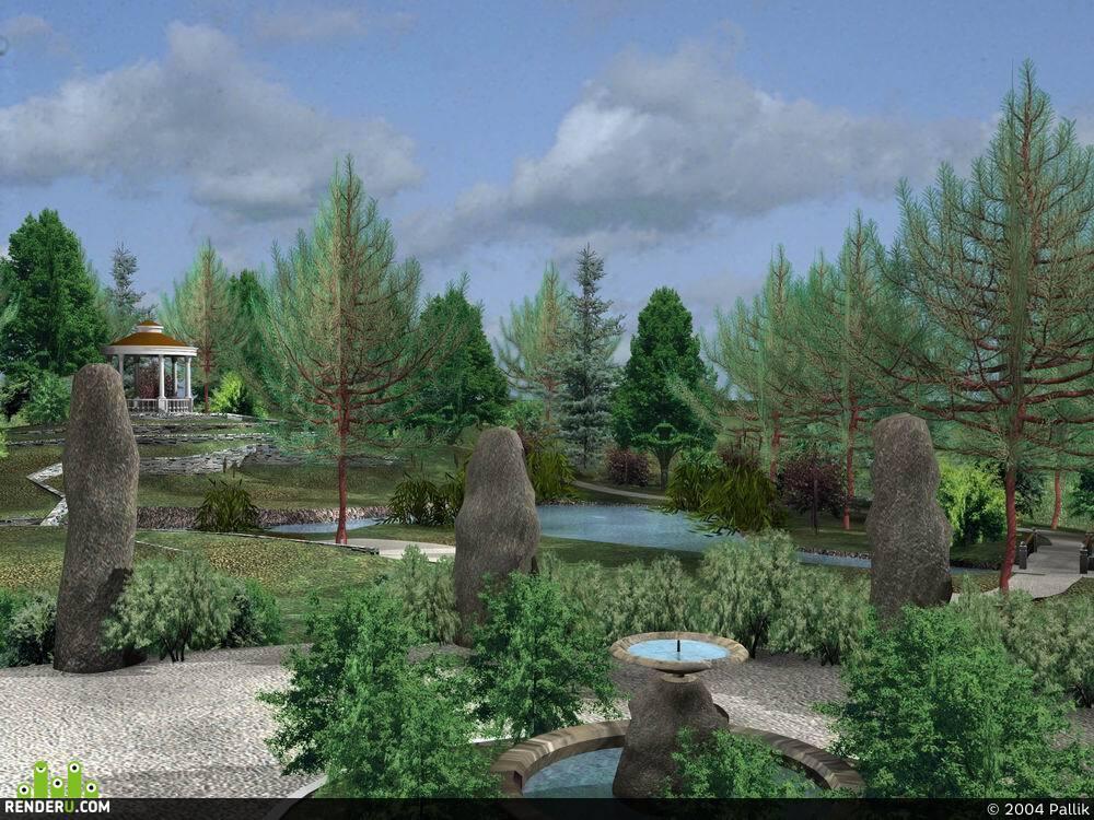 preview Английский парк