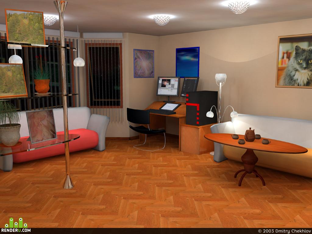 preview Мечта 3d художника об удобстве