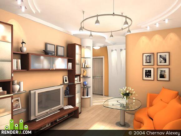 preview Интерьер двухкомнатной квартиры