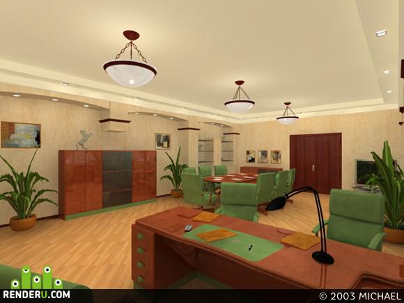 preview кабинет с итальянской мебелью