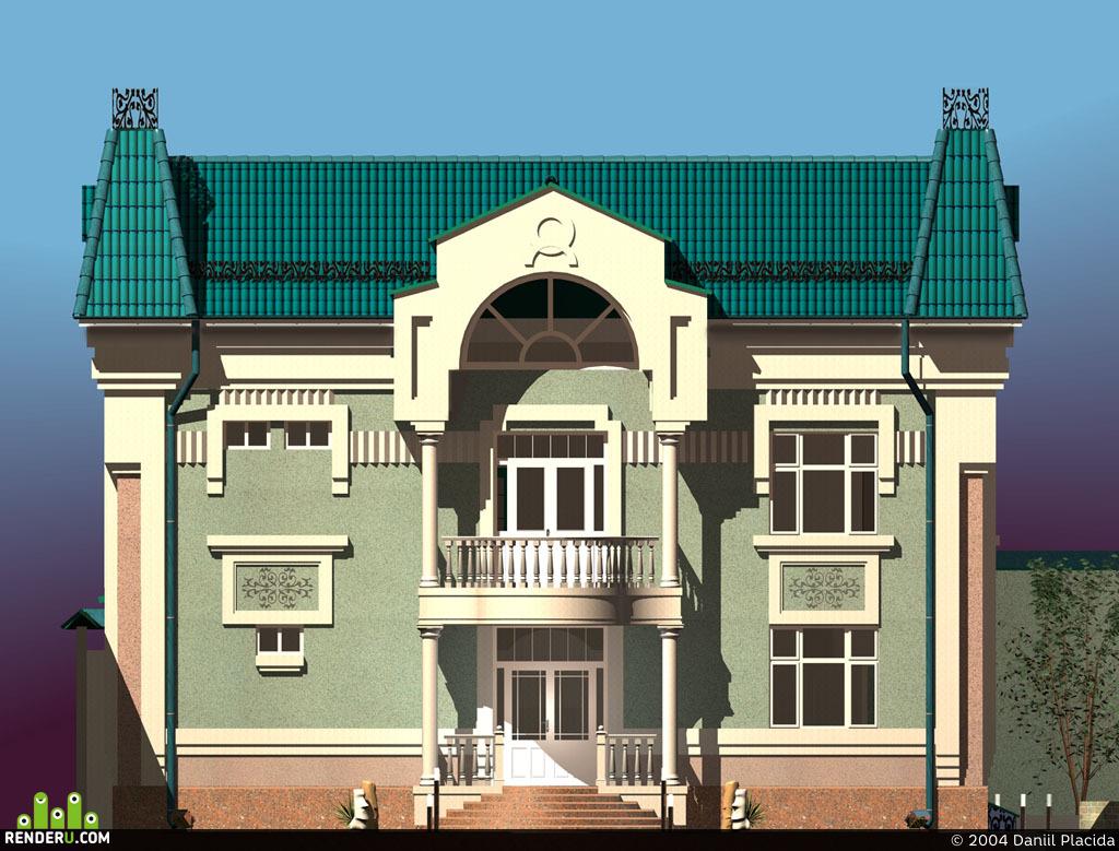 preview Дом во дворе