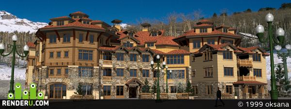 preview горный отель