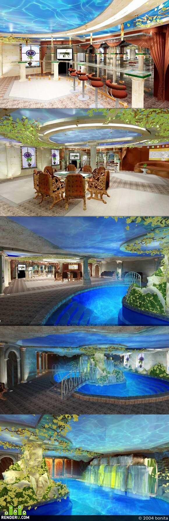 preview Банька с бассейном