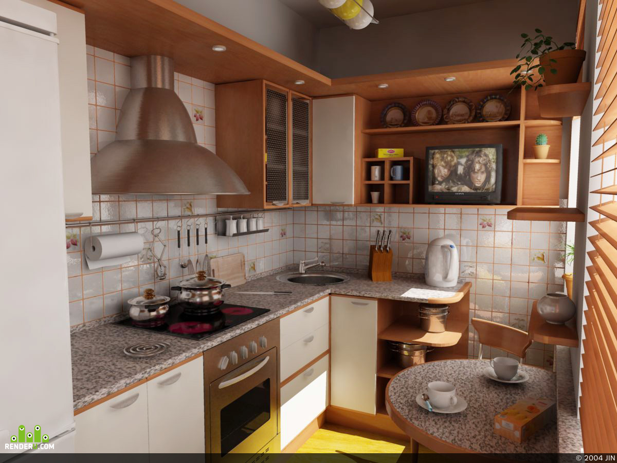 preview Кухня в квартире