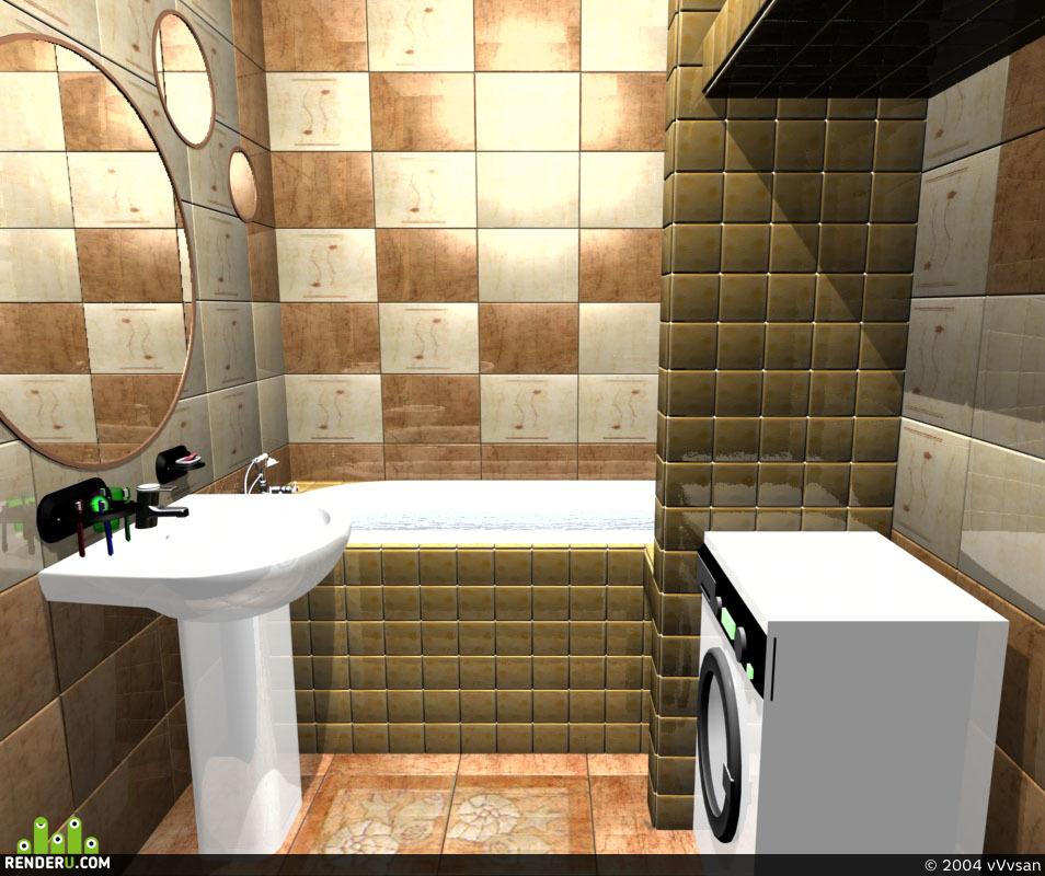 preview ванная в панельном доме