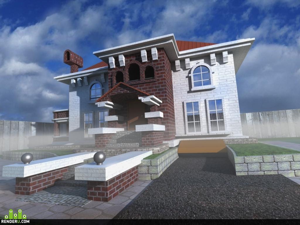 preview Дом как на картинке