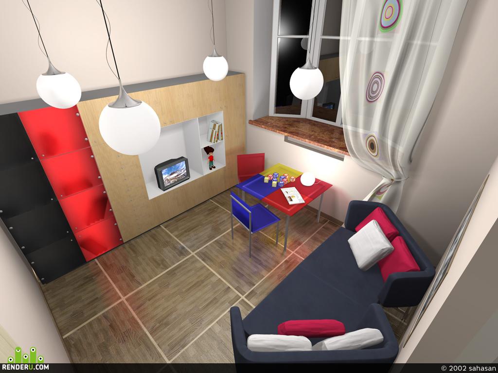 preview Детская комната.